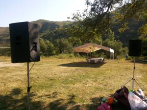 Прокат звука для Open air - тимбилдингов - квестов
