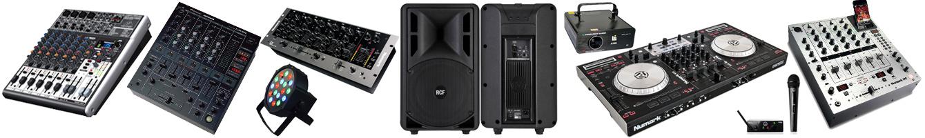 Оборудование для DJ - звук и свет