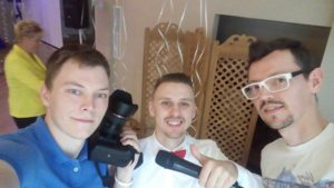 Наша команда Фотограф, Ведущий и DJ