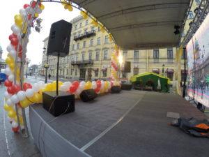 Оборудование сцены для праздников и мероприятий